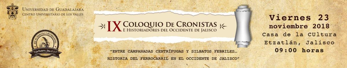 Coloquio de Cronistas 2018