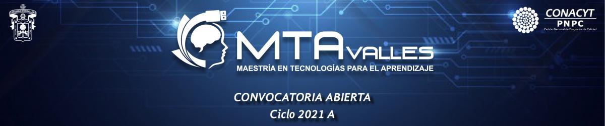 Maestría en Tecnologías par el Aprendizaje - Calendario 2021 A