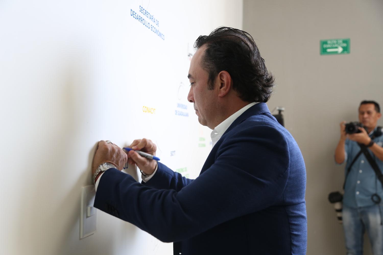 Daniel Curiel, Coordinador del Consejo de Cámaras Industriales de Jalisco
