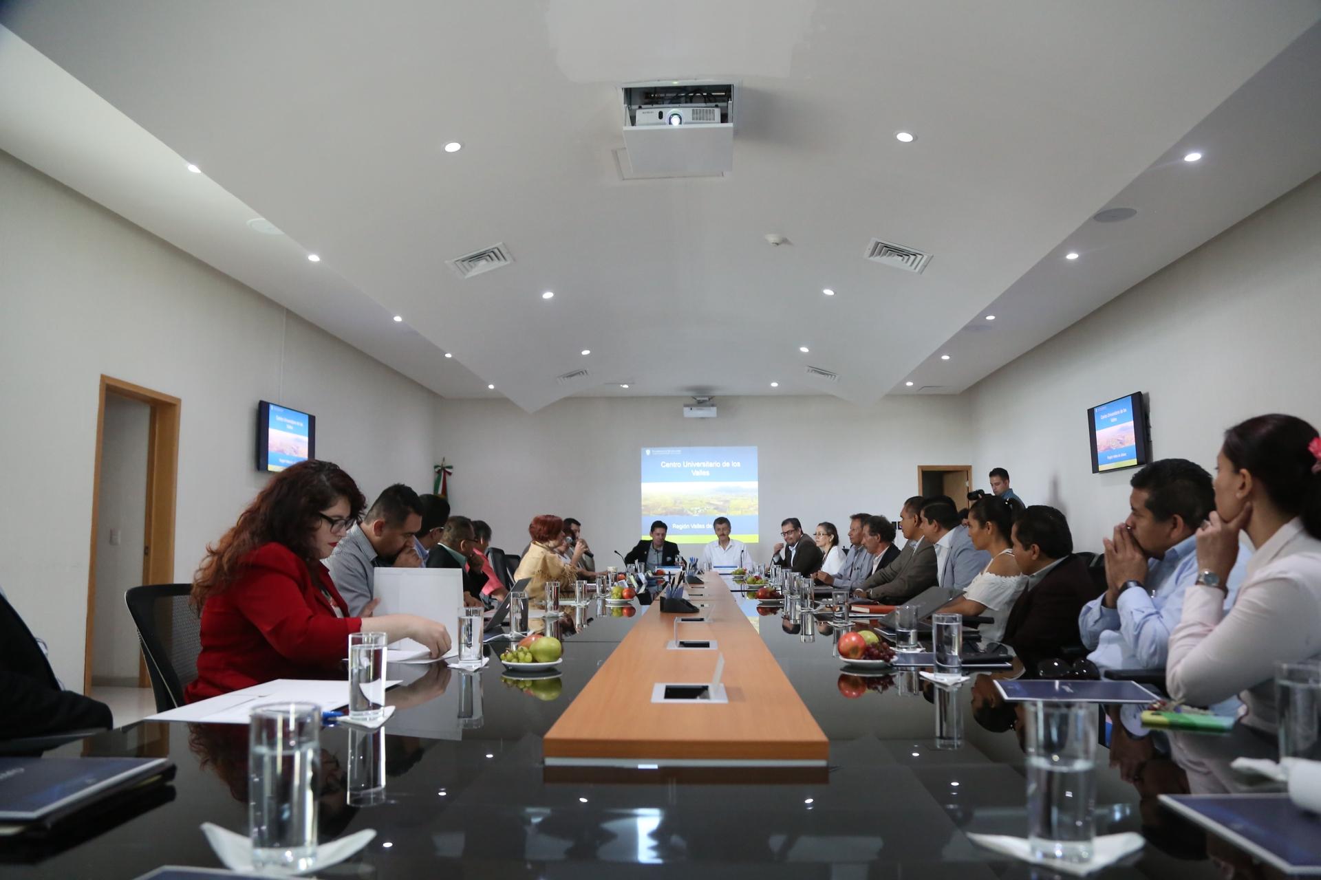 Reunión CRT- CUValles