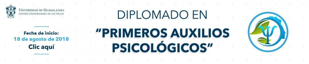 Diplomado en Primeros Auxilios Psicológicos