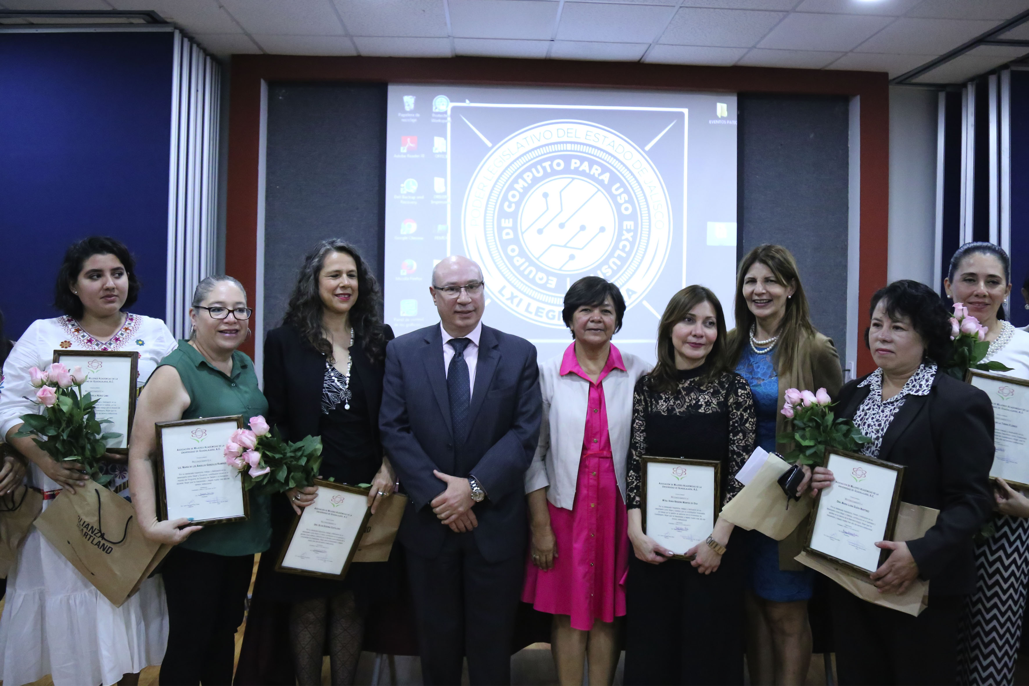 Mujeres reconocidas