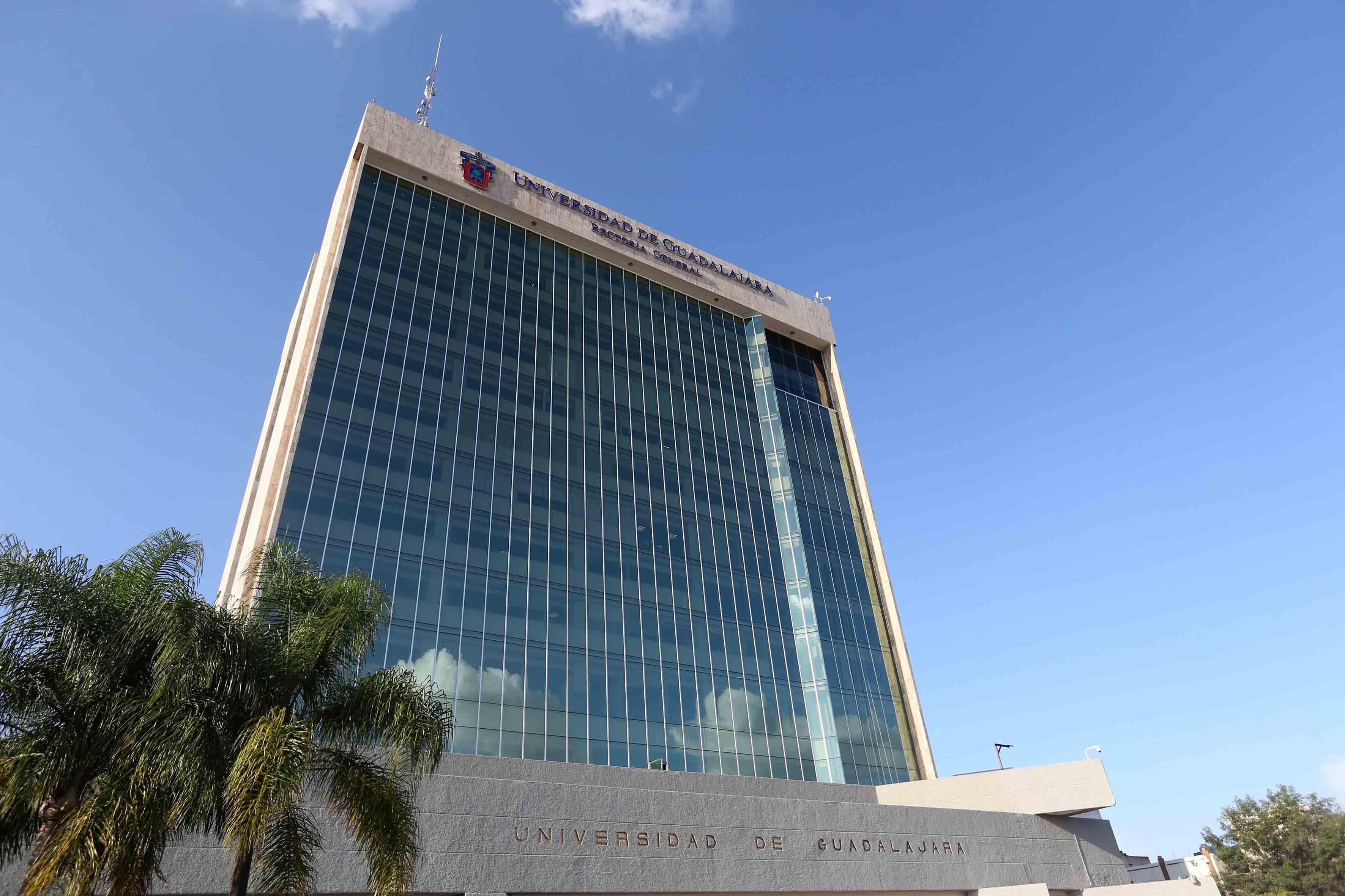 Edificio de la rectoría general de la UdeG