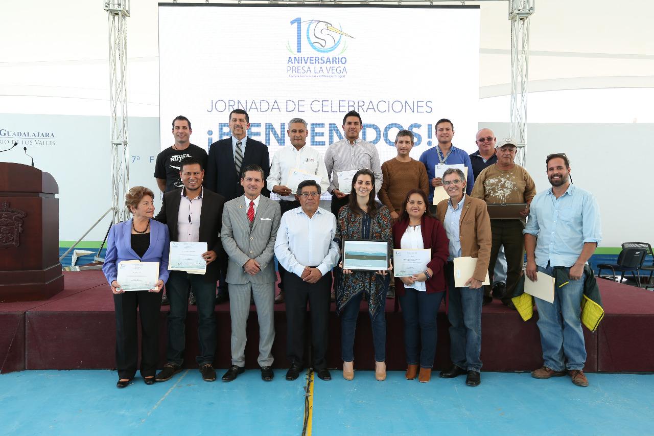 Integrantes del Comité Técnico para el Manejo Integral de la Presa La Vega